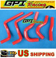 silicone radiator hose for Honda CR125 CR125R 2003 2004 03 04 RED
