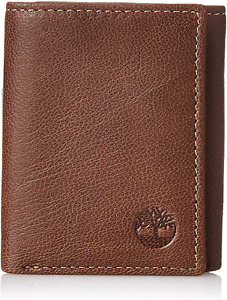 Timberland Mens Genuine Leather Rfid Blocking Trifold Security Wallet