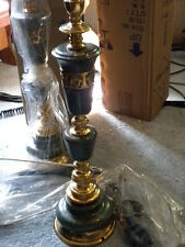 Vintage Marble & brass Table lamps (N.O.S.)