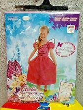 Costume Barbie Principessa Mariposa con Ali 8-10 anni cm 134