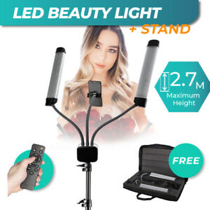 LED Light Stand for Recording Video Photo Beauty Makeup Tattoo Eyelash Extension