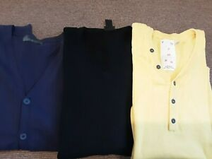 Mens knitwear bundle size L