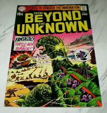 From Beyond the Unknown #1-4 High-grade OW pgs Unrestored 1969 DC Sci-fi 4 books