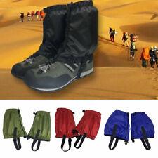 Outdoor Hiking/Walking/Trekking Waterproof Boot Ankle Legging Gaiters Covers UK