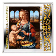 Niue 2014 Masterpieces of the Renaissance Madonna of the Carnatoin Silver Coin