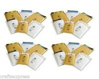 JL3 - Jiffy Aircraft Bags - 220mm x 320mm Padded Envelopes Gold & White