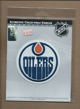 New Authentic Collectible Emblem Edmonton Oilers Collector Patch Nhl