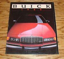 Original 1988 Buick Full Line Sales Brochure 88 Park Avenue Riviera LeSabre