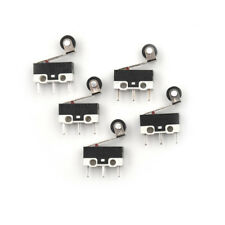 10pcs Ultra Mini Micro Switch Roller Lever Actuator Microswitch Spdt Sub Swiudr