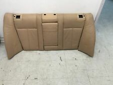 BMW OEM E39 525 530 540 INTERIOR REAR FOLDING SKI BAG LEATHER BACK UPPER SEAT