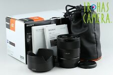 Sony Carl Zeiss T* Sonnar E 24mm F/1.8 ZA Lens for E Mount With Box #11204F2