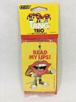 Vintage 1989 Tang Trio Read my Lips Medo Air Freshener General Foods Corp