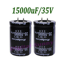 15000uF/35V High quality Electrolytic radial Capacitor DIP 30*50mm NEW 1pcs