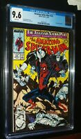 THE AMAZING SPIDER-MAN #322 1989 Marvel Comics CGC 9.6 NM+ White Pages