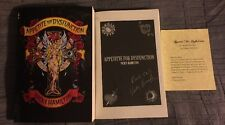 Vicky Hamilton Appetite for Dysfunction Book Autographed PROOF Ed GNR 80s Story