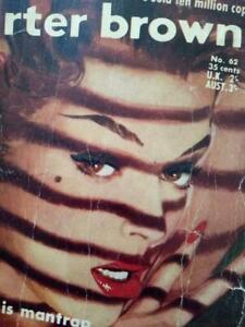 "Australian Pulp Crime Fiction -CARTER BROWN ""Tempt a Tigress"" First Edition 1958"