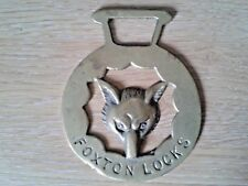 Very Collectable Horse Brass, Foxton Locks.