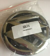 VW VOLKSWAGEN GOLF MK6 Badge Chrome FRONT Complete Unit 2008-2013 Part 5K0853601