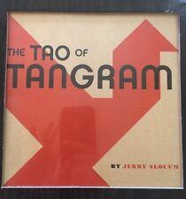 The Tao of Tangram deluxe book and wood Tangram Set