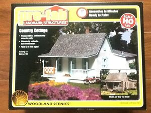 Woodland Scenics 1/87 HO Pre- Fab Country Cottage Kit # WS 5186 FACTORY SEALED
