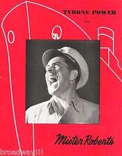 "Tyrone Power ""MISTER ROBERTS"" Jackie Cooper / Joshua Logan 1950 London Program"