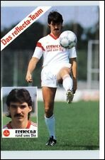 RALF DUSEND Fussball 1. FCN Nürnberg Porträtkarte Sponsor Reflecta Football