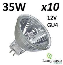 10 Ampoules dichroique halogène à économie d'énergie MR11 GU4 12V 35W (25W)