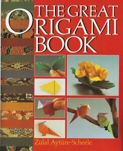 Great Origami Book And Kit by Ayture-Scheele, Zulal Paperback Book The Cheap