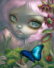 Jasmine Becket-Griffith art print SIGNED Insectarium 2: Carnivorous Plants II