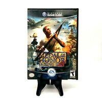 Medal Of Honor Rising Sun Nintendo Gamecube Both Disks 2001 EA Games Multiplayer
