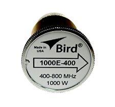 Bird 1000E-400 Plugin Element 0 to 1000 watts 400-800 MHz for Bird 43 Wattmeter