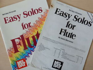 Easy Solo for Flute Harry Bluestone with Piano Accompaniment Mel Bay