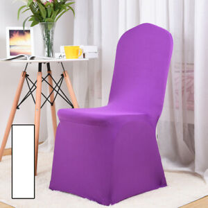 Stretch Dining Chair Cover Slipcover Seat Cover Cushion Cover Banquet Decor I