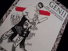 Genii Magazine Rody Coby December 1987 Collector's (Good Condition)