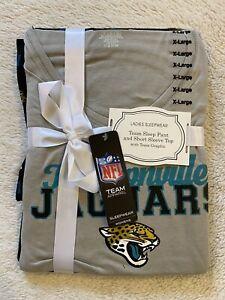 NFL Jacksonville Jaguars Officially Licensed Women Size XL Pajama Gift Set