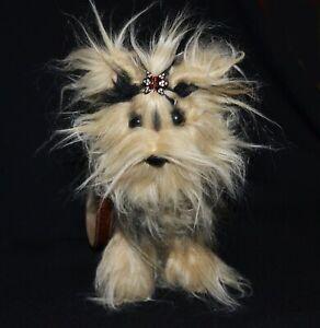 Love On A Leash Teacup Yorkshire Terrier Dog Handbag