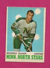 1970-71 OPC # 167 NORTH STARS MURRAY OLIVER EX-MT CARD (INV# A5241)