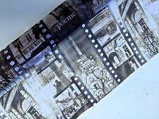 3M Organza  Imprimé Cinema Paris largeur 150cm tissu souple ,fluide