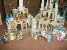 CINDERELLA DISNEY WORLD CASTLE COMPLETE W/10 FIGURES ALL WORKING GREAT CONDITIO