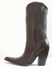 5 inch heel men cowboy boots made of genuine leather to your size 14¨tall shaft.