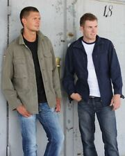 Hip Length Cotton Military Coats & Jackets for Men
