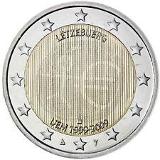 Luxemburg 2 Euro 2009 WWU EMU 10 Jahre Wirtschafts und Währungsunion bankfrisch