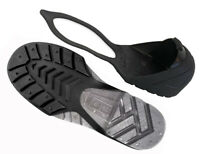Oshatoes All Black Steel Toe Cap Safety Overshoe OSHA Compliant CSA Attest Small