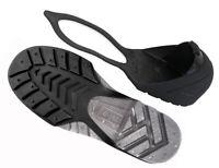 Oshatoes All Black Steel Toe Cap Safety Overshoe OSHA Compliant CSA Attest Small