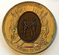Civil War VETERANS Delegate 29th Encampment Medal - 1895 Louisville , Kentucky