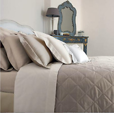 New Yves Delorme Triomphe Pierr Quilted Bed Cover 180cm x 240cm RRP £999