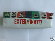 "DOCTOR WHO  DALEKS  "" EXTERMINATE ! "" PENCIL CASE     SUMMER SALE 10% OFF !"