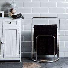 Stainless Steel Free Standing Towel Rails Ebay