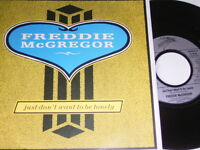 "7"" - Freddie McGregor Just don´t want to be lonely - 1987 # 6006"