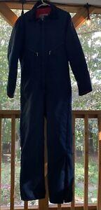 Walls Blizzard Pruf Insulated Coveralls Jumpsuit Men Size Medium Tall 38-40 Blue